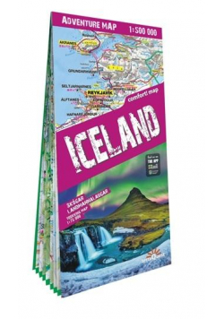 Advanture map Islandia/Iceland 1:500 000