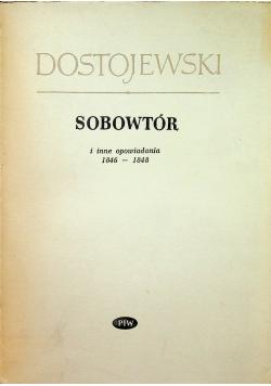 Sobowtór i inne opowiadania 1846-1848