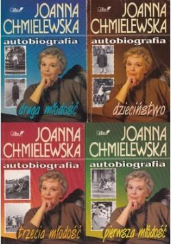 Chmielewska Autobiografia 4 tomy