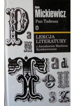 Pan Tadeusz Lekcja literatury