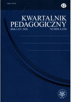 Kwartalnik Pedagogiczny 2020/4