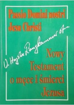 Nowy Testament o męce i śmierci Jezusa
