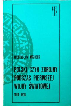 Polski czyn zbrojny podczas pierwszej wojny światowej 1914 1918