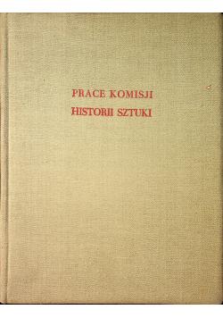 Prace Komisji Historii Sztuki tom IX 1948 r