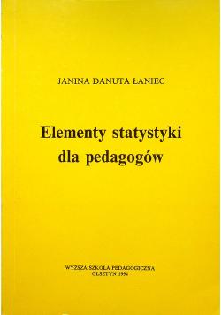 Elementy statystyki dla pedagogów