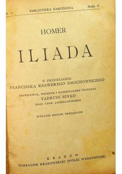 Homer Iliada 1923 r