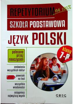 Repetytorium Szkoła Podstawowa Język polski klasa 7-8
