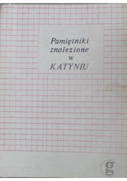 Pamiętniki znalezione w Katyniu