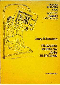 Filozofia moralna Jana Burydana