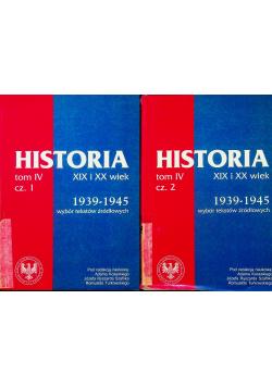 Historia XIX i XX wiek Tom IV część 1 i 2