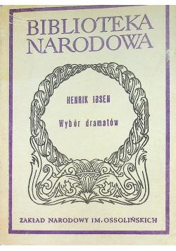 Ibsen Wybór dramatów Część II