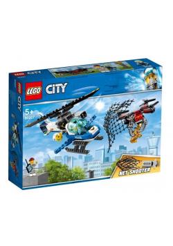 Lego CITY 60207 Pościg policyjnym dronem