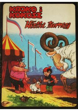 Kajko i Kokosz wielki turniej komiks