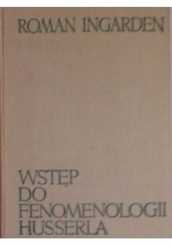 Wstęp do fenomenologii Husserla