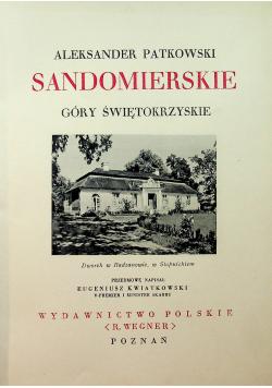Sandomierskie Góry Świętokrzyskie 1930 r.