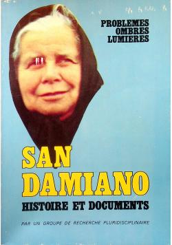 San Damiano Histoire et Documents