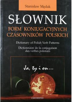 Słownik form komunikacyjnych czasowników polskich