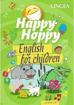 Happy Hoppy English for children plus płyta CD