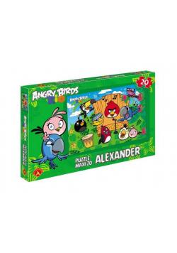Angry Birds Rio. Puzzle 20 maxi Ptasi koncert ALEX