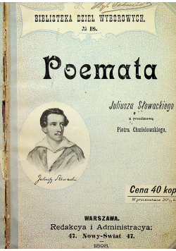 Poemata 1898 r