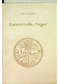 Karmazynowy poemat 1930