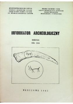 Informator Archeologiczny badania 1984