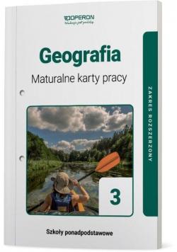 Geografia LO 3 Maturalne karty pracy ZR OPERON