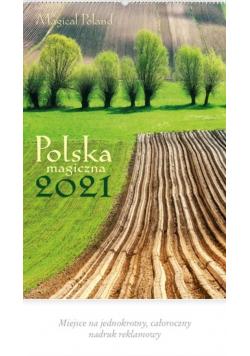 Kalendarz 2021 Reklamowy Polska magiczna RW2