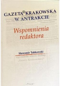 Gazeta Krakowska w antrakcie