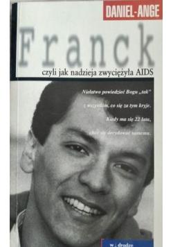 Franck czyli jak nadzieja  zwyciężyła AIDS