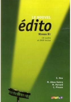 Edito B1. Podręcznik + CD mp3 + DVD