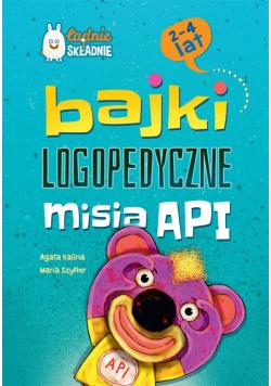 Bajki logopedyczne misia API