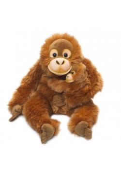 Orangutan mama z dzieckiem 30cm WWF
