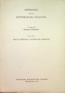 Antologia della letteratura Italiana Volume I