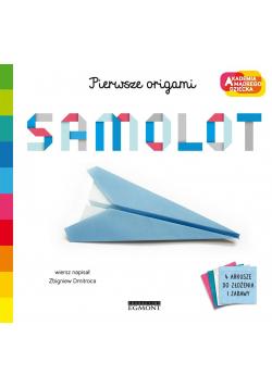 Samolot. Akademia mądrego dziecka.Pierwsze origami