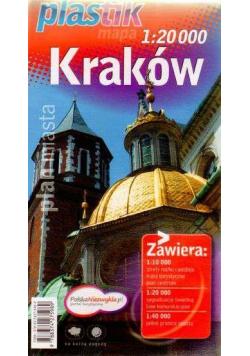 Plan miasta - Kraków PLASTIK  DEMART