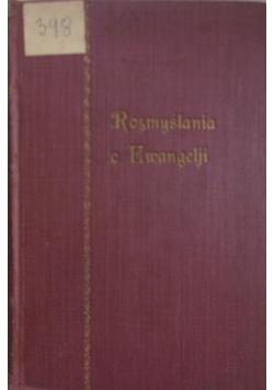 Rozmyślania o ewangelii, 1931r.