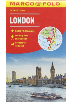 City map Marco Polo London 1:12 000