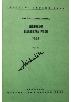 Bibliografia geologiczna polski 1968 Nr 41