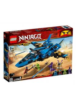 Lego NINJAGO 70668 Burzowy myśliwiec Jaya