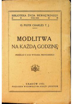 Modlitwa na każdą godzinę 1931r
