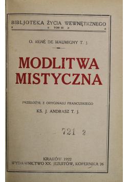 Modlitwa Mistyczna 1922 r