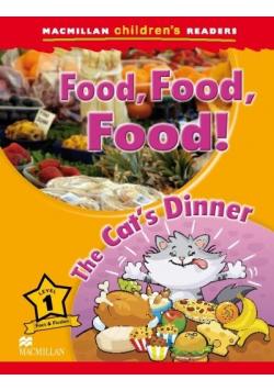 Children's: Food, Food, Food! Lvl 1 The Cat's...