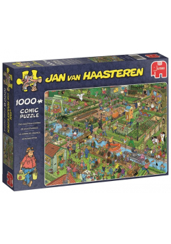 Puzzle 1000 Haasteren Ogród warzywny G3